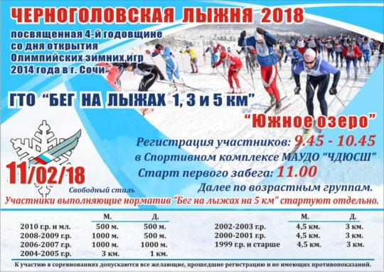 лыжня 2018