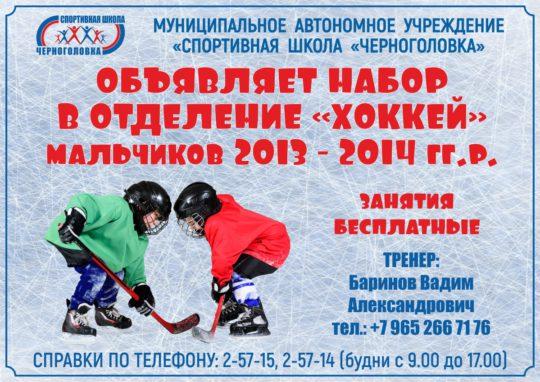 Набор хоккей